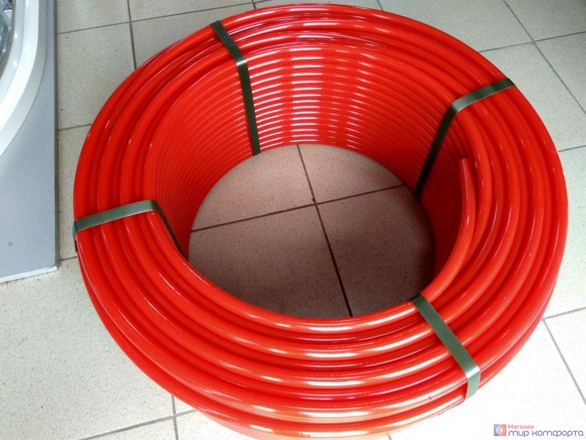 PE-RT-труба 16х2,0 (200)  Royl Thermo красный