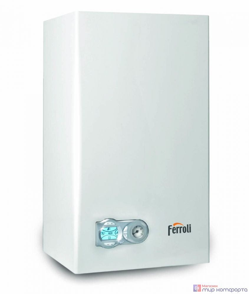 Котел настенный газ.  FERROLI Fortuna F 24