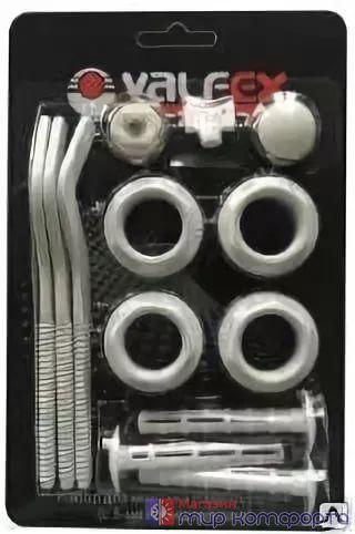 Монтажный комплект 3/4 с 3- мя кронштейнами  VALFEX